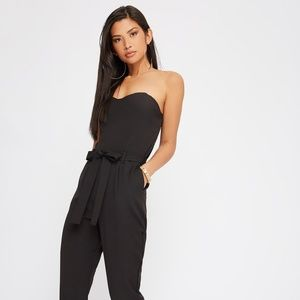 H&M Strapless Sweetheart Jumpsuit